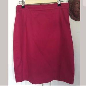 Marella MaxMara hot pink skirt size 12